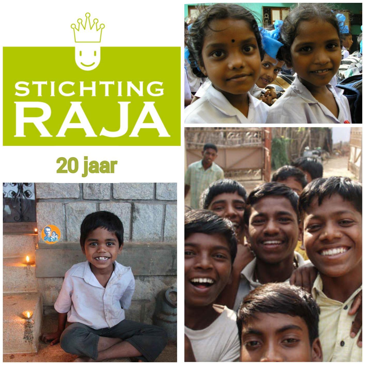 Raja 20 jaar verkleind